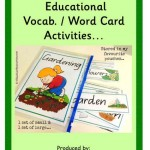 Free 101 Fun And Educational Vocabulary Word Card Activities