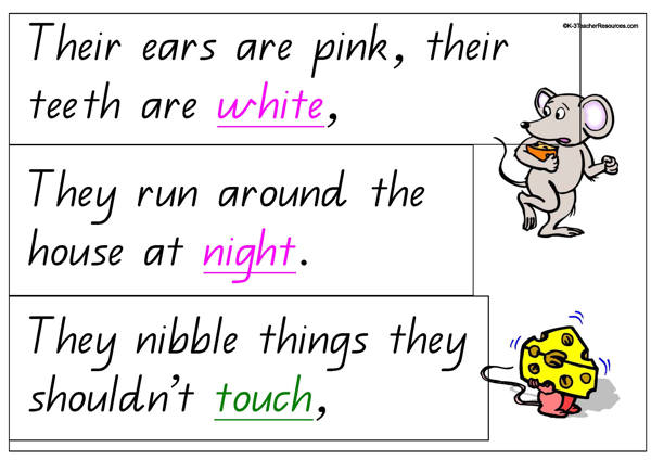 I Think Mice are Rather Nice Rhyme