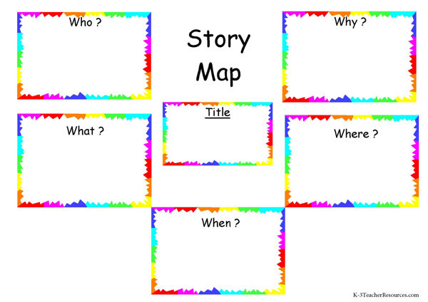 ... Cards Simple Story Map Free 101 Fun And Educational Vocabulary Word