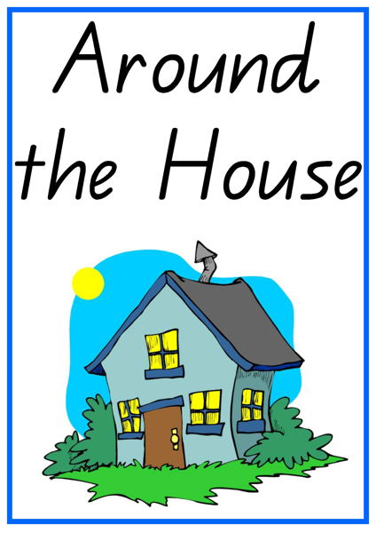 Around the House Vocabulary Words