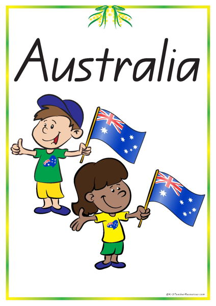 52 Australia Vocabulary Words