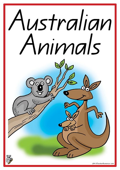 20  Australian Animals Vocabulary Words