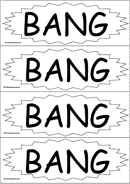 Bang Sight Word Game