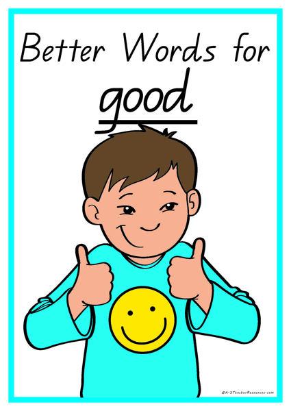 25 Better Words for Good