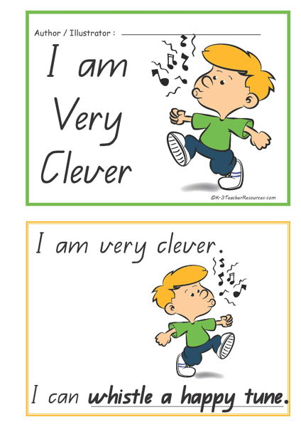 Free I Am Clever Concept Book