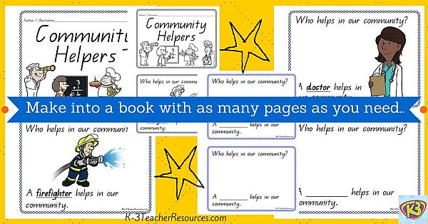 Community Helpers Concept Book