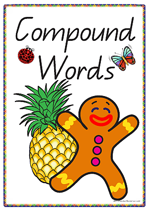 picture relating to Printable Compound Word Games named Printable Material Text