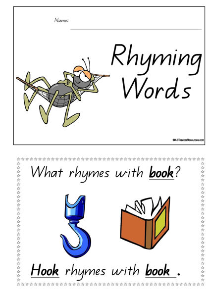 Rhyming Words Concept Book