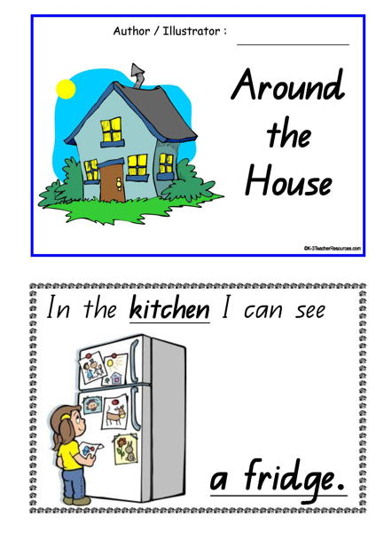 Around The House Concept Book