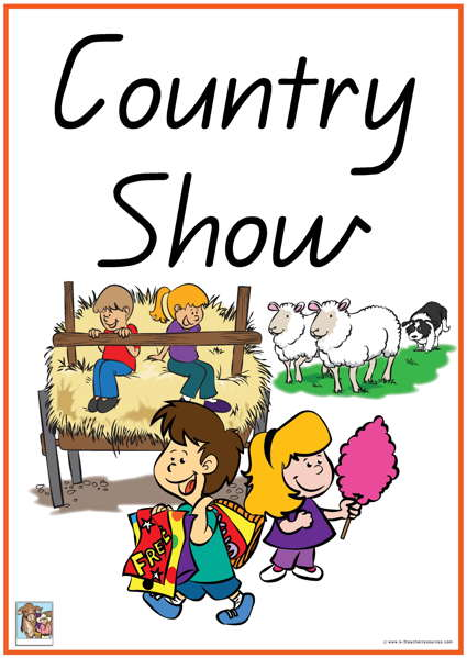 36 Country Show Vocabulary Words