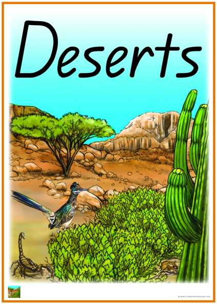Desert Biome Vocabulary Words
