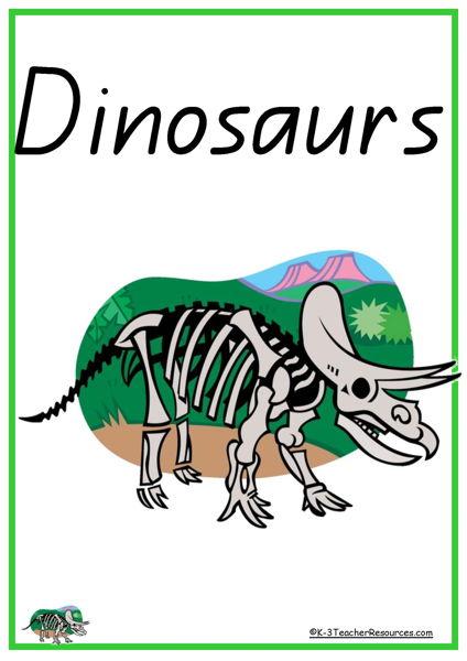 Dinosaur Vocabulary Words
