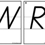 Printable Alphabet Double Sided Cards