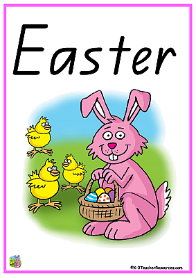 Brilliant 23 Printable Easter Vocabulary Words Download Free Architecture Designs Grimeyleaguecom