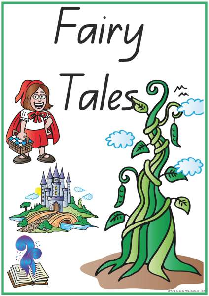 Fairy Tale Vocabulary Words