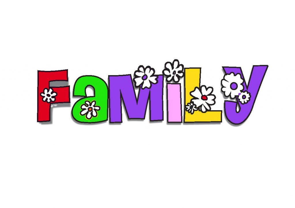 20 x My Family School Clipart