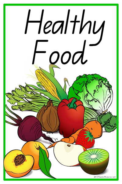 31 healthy food vocabulary words