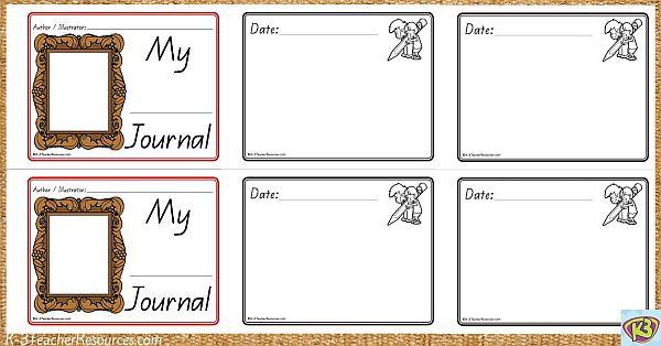 Printable Children's Journal