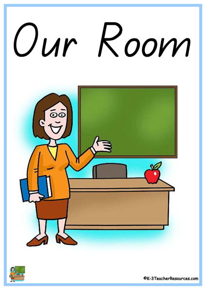 Our Room Words 1