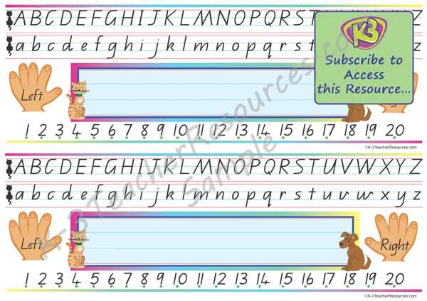 Fonts to help kids to write + Qld Cursive