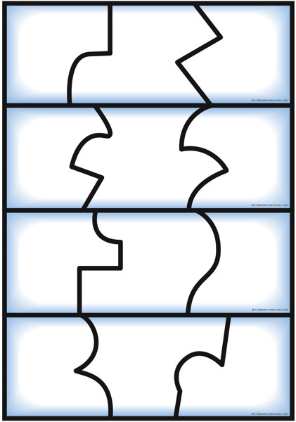 self correcting editable puzzle templates