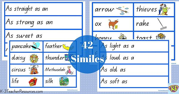 42 Traditional Similes