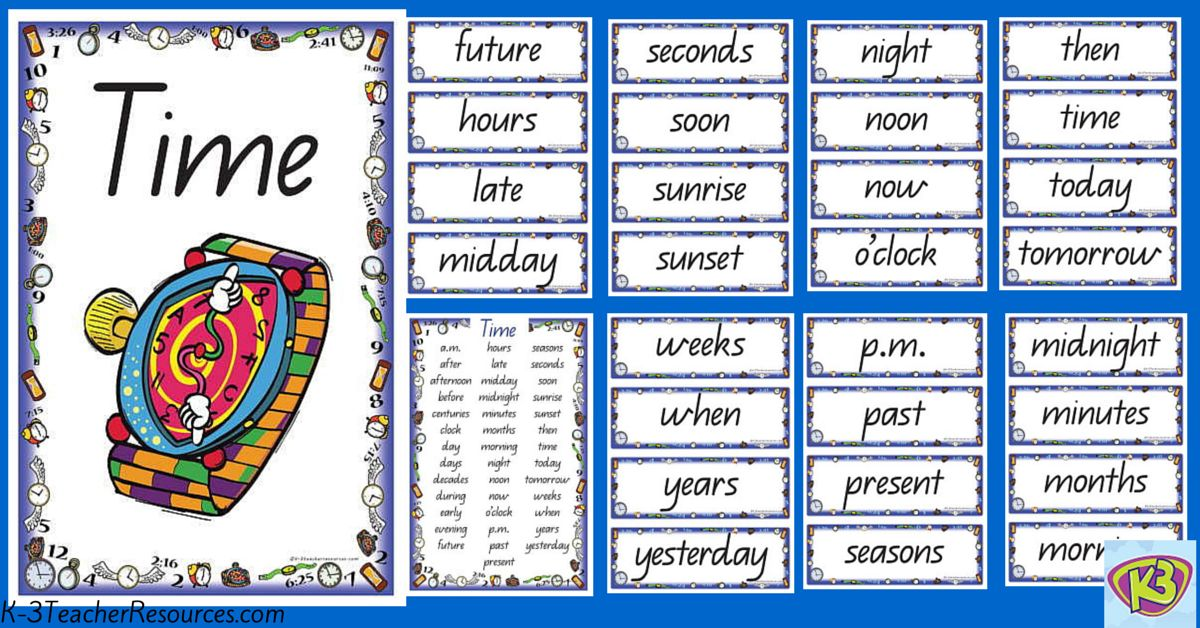 Word Timetable