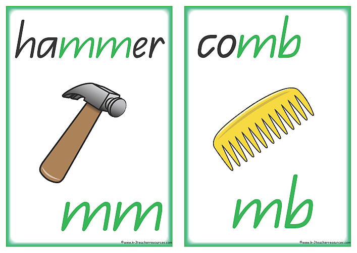 Phonics Printables Consonants