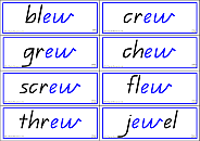 Phonics Words Vowels