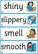 Printable-Flashcards - 5 Senses