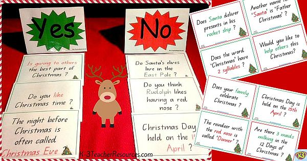 Yes or No Christmas Questions