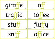 Printable-Flashcards - phonics