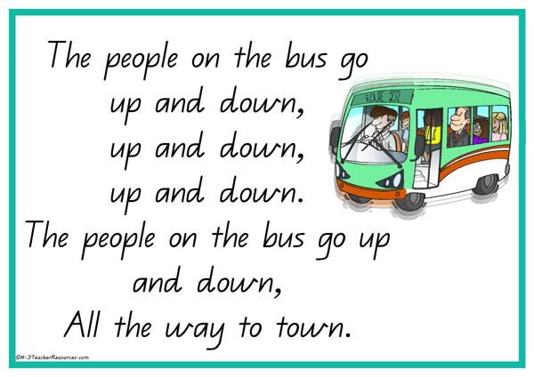 The Wheels on the Bus Rhyme-2