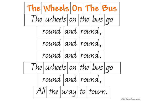 The Wheels on the Bus Rhyme-4