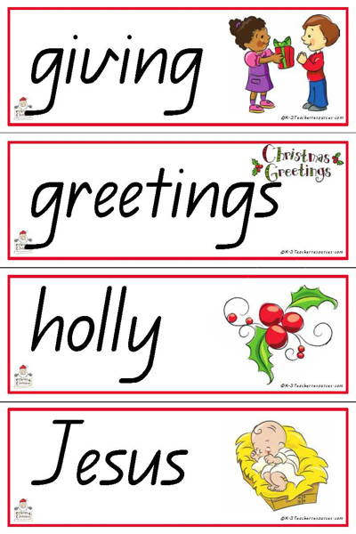 christmas words qld_page_08 k 3 teacher resources