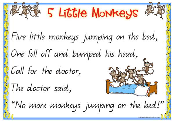 Five Little Monkeys - Super Simple Songs