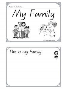 My Family Concept Book 1