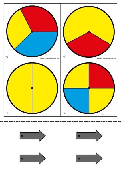 Probability Spinners K 3 Teacher Resources