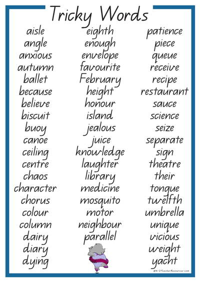 tricky-words-QLD_Page_02 - K-3 Teacher Resources