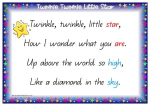 Twinkle Twinkle Little Star 1