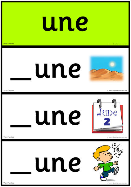 image about Printable Word Family Books titled phrase-households-very long-vowel-u-1-SASS_Website page_8 - K-3 Trainer Products