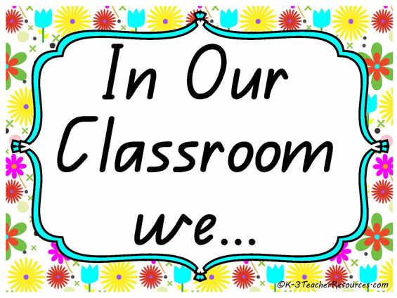 Classroom Inspiration Posters K 3 Teacher Resources