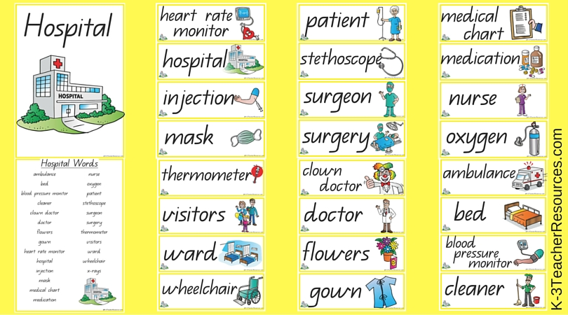 alphabet word cards