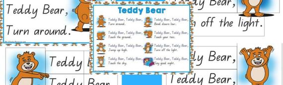 New Teddy Bear, Teddy Bear Song