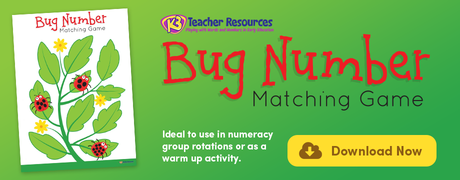 Bug Number Matching Game