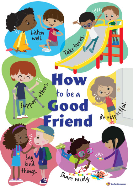 How to Be a Good Friend - Poster