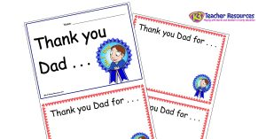 Father's Day Activities - Father's Day concept book