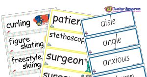 Word Wall Ideas and Activities